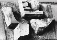 22 DOC _ 36 1965 Betonguss Kleiner Prophet Jona A.T. Auf der Flucht